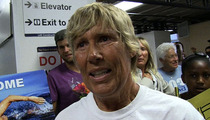 Swimmer Diana Nyad -- Cuba to Florida Was My Urine-Nation Crossing