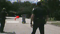George Zimmerman HANDCUFFED ON TAPE -- 'Get on Your Knees!!!'