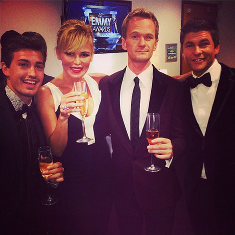 Asher Monroe Book, Neil Patrick Harris and David Burtka