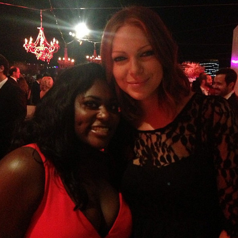 Danielle Brooks and Laura Prepon