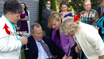 Pres. George H.W. Bush -- Wedding Gift For Same-Sex Couple ... Now You Don't Have To Eat Out