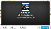 Khloe Kardashian -- Drops Lamar Odom ... for Wedding Anniversary