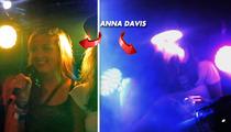 'Buckwild' Star Anna Davis -- Head SLAMMED By Metal Lighting Rig