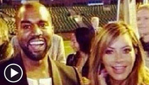 Kim Kardashian and Kanye West -- Go for Broke with Massive Engagement Surprise