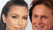 Kim Kardashian -- Bruce Jenner Will Walk Her Down the Aisle