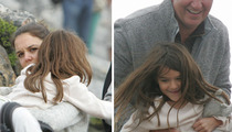 Katie Holmes & Suri -- Ain't No Mountain High Enough