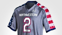 Northwestern University -- NOT Selling Any More Bloody Jerseys ... At Least for Now