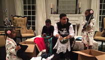 Sean 'Diddy' Combs' Kids -- We Want To Help Typhoon Victims