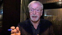 Michael Caine -- Brad Pitt Is Batman's Next Alfred ... If I Had My Pick