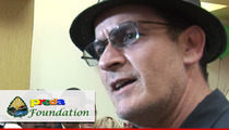 Charlie Sheen -- I'm a Charitable Rock Star From Mars
