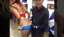 'Big Trouble In Little China' Star -- Yes I'll Sign Your Ass, Wonder Woman!