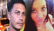 Pauly D's Baby Mama -- History of Domestic Violence ... Bloodied Ex-BF in Brutal Fist Fight