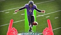 Raven's Kicker Justin Tucker -- I'm God's Gift to Fantasy Football