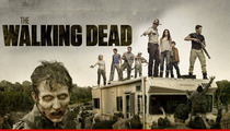 'Walking Dead' Creator to AMC:  I'll Cremate You in Court!