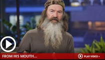 'Duck Dynasty' Star -- Anus vs. Vagina is Not Even Close