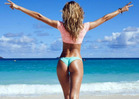 Candice Swanepoel -- Here's My Perfect Butt -- Judge For Yourself