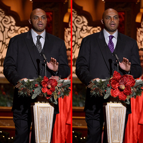 Can you spot the THREE differences in the Charles Barkley picture?