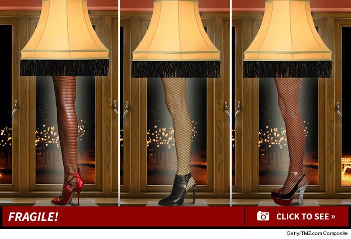 NEVA: Sexy leg lamp