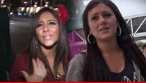 Snooki to JWoww -- CONGRATS ON PREGNANCY ... You're Going to Crap on Your Doctor