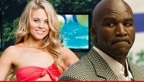 'Big Brother' Star Aaryn Gries -- Evander Holyfield's Gay Rant Really Pissed Me Off!