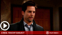 Michael Muhney -- Canned for Hands-On Approach (Allegedly) with Co-Star