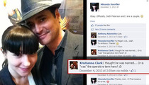 'Burn Notice' Star Seth Peterson -- Check Out the 22-Year-Old I'm Banging ... NOT My Pregnant Wife