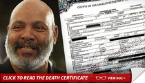 James Avery Death Certificate -- Severe Medical Problems Before Death