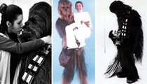 Chewbacca -- Royal Crushing on Princess Leia