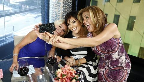Kathie Lee Gifford, Kris Jenner and Hoda Kotb took a fun selfie!