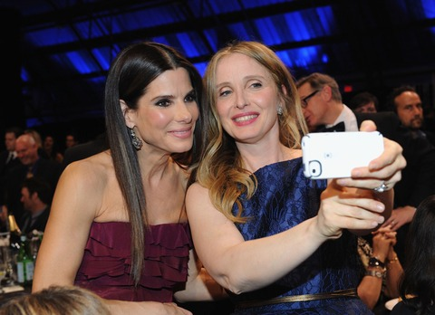 Sandra Bullock and Julie Delpy snapped a cute selfie!