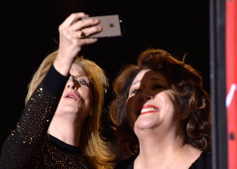 Meryl Streep and Margo Martindale captured a selfie at the right angle!