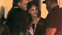 Justin Bieber -- Blows $75K in Miami Strip Joint