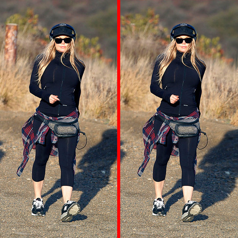 Can you spot the THREE differences in the Fergie picture?