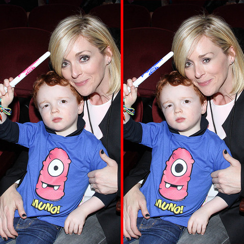 Can you spot the THREE differences in the Jane Krakowski picture?