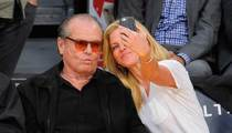 Jack Nicholson -- Do I Look Like I'm Joking ... in This Courtside Selfie