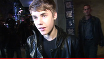 Justin Bieber -- He'll Be Dogged Indefinitely By U.S. Customs