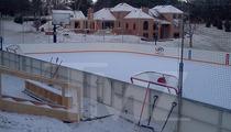 NHL Legend Bill Guerin -- Drops $500K on Backyard Hockey Rink