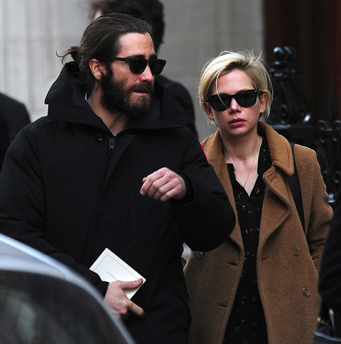 Jake Gyllenhaal and Michelle Williams
