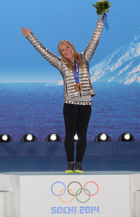 Gold Medalist Jamie Anderson -- Snowboard Women's Slopestyle