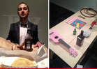 Shia LaBeouf's Disturbing Art Show -- He'd Been Crying 'Like His Cat Just Died'