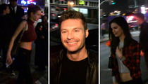 Ryan Seacrest -- Takes Home Two NEW Chicks ... Old Chick Don't Care