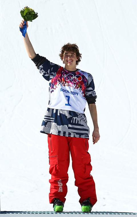 Bronze medalist Nicholas Goepper -- Freestyle Skiing Men's Slopestyle