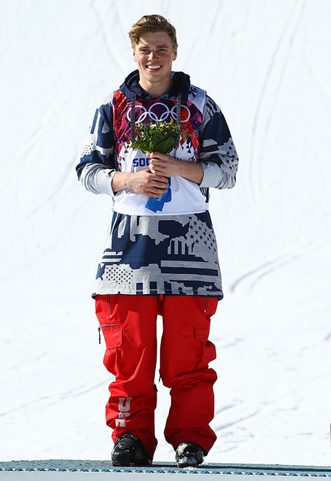 Silver medalist Gus Kenworthy -- Freestyle Skiing Men's Slopestyle