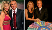Pat Sajak -- Valentine's Date with Vanna White ... Do We Have to Spell It Out?