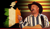 Garth Brooks -- Irish Try To Stop Concerts -- Fans 'Piss And Vomit' Everywhere