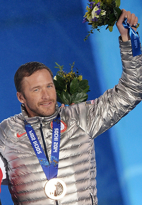 Bronze medalist Bode Miller -- Alpine Skiing Men's Super-G
