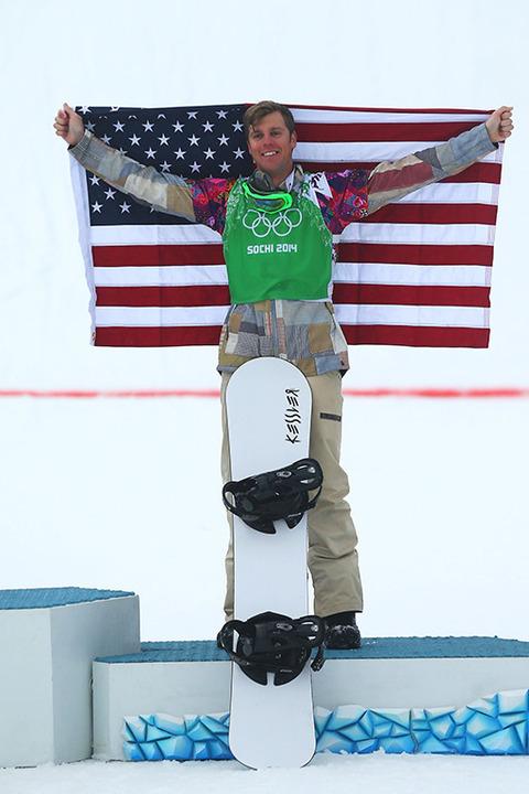 Bronze medalist Alex Deibold -- Snowboarding Men's Snowboard Cross