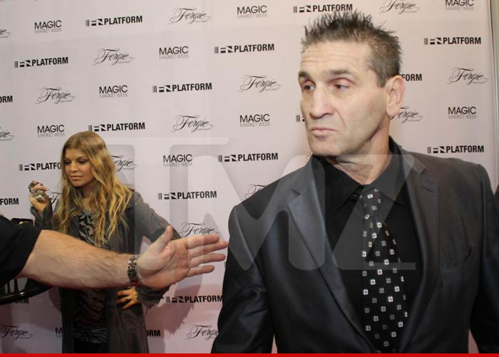 Ken Shamrock isn't afraid to put the black eye in Black Eyed Peas if ANYONE  messes with Fergie -- because the UFC legend was part of her personal  security ...