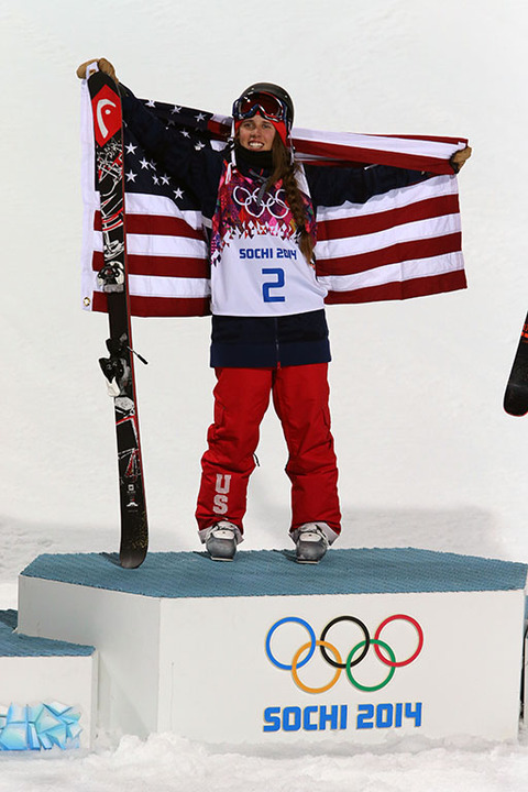 Gold medalist Maddie Bowman -- Freestyle Skiing Women's Halfpipe
