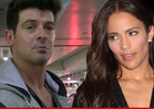 Robin Thicke -- Desperate Flight to Canada To Save Marriage